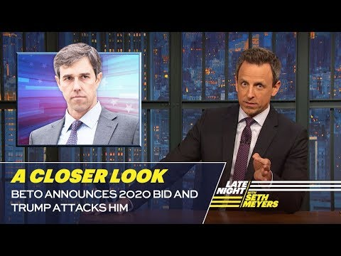 Beto Announces 2020 Bid and Trump Attacks Him: A Closer Look