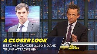 Video Beto Announces 2020 Bid and Trump Attacks Him: A Closer Look MP3, 3GP, MP4, WEBM, AVI, FLV Maret 2019