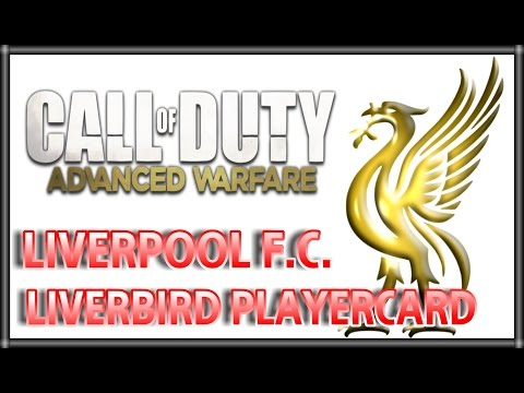 Call Of Duty: Advanced Warfare: Liverpool FC Emblem Tutorial. LFC Emblem.