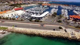Iluka Australia  city images : Hillarys Boat Harbour / Iluka Beach, Western Australia - Drone Perspective
