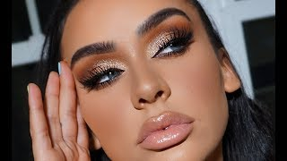 MY GO TO GOLDEN SMOKEY EYE | COACHELLA EDITION by Carli Bybel
