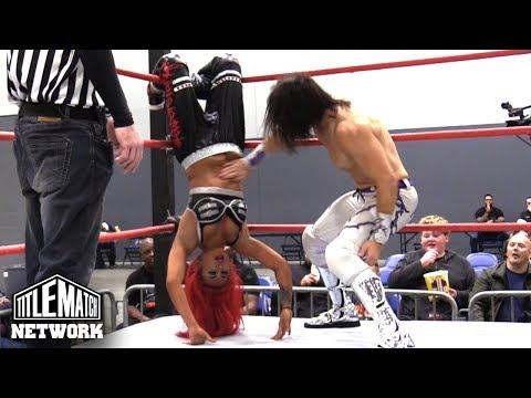 Miranda Alize vs Will Allday - Queens of the Ring 2 (Intergender Wrestling)