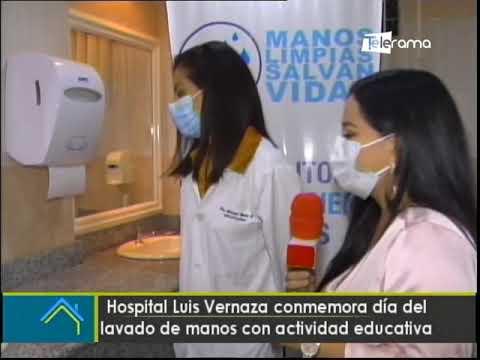 Hospital Luis Vernaza conmemora día del lavado de manos con actividad educativa