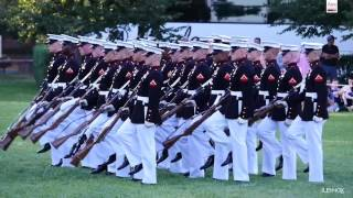 Video Watch The Amazing Marine Corps Silent Drill Platoon Perform at the Sunset Parade MP3, 3GP, MP4, WEBM, AVI, FLV Juli 2018