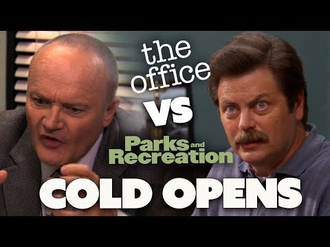 COLD OPENS | The Office US Vs Parks and Recreation | Comedy Bites