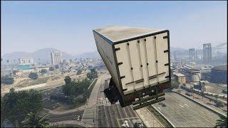 GTA 5 - Semi Truck Stunt Jump