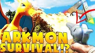 PISTOL VS POKEMON - ARK SURVIVAL EVOLVED POKEMON MOD (ARKMON) #5