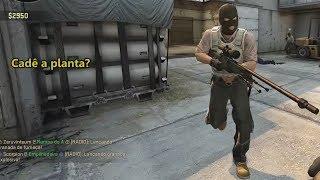 Como NÃO jogar CS:GO #5  Gameplay com Amigos Counter-Strike: Global Offensive: Jogo Pago, Steam; Compre:...