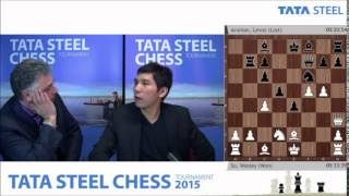 GM Wesley So analyzes game vs GM Levon Aronian