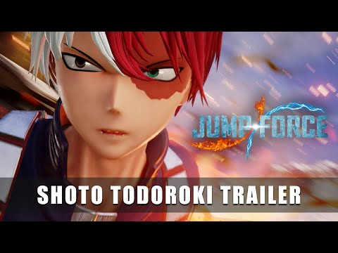 Trailer Shoto Todoroki  de Jump Force