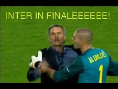 Barcellona - Inter_Valdes vs Mourinho (видео)