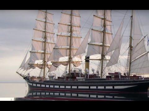 Видеорепортаж осовременном деревянном судостроении вРоссии