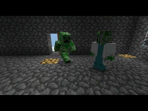 Birth of a Creeper - Minecraft