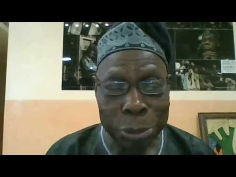 Former Nigerian President Olusegun Obasanjo Relates COVID-19 To Hardships From Prison