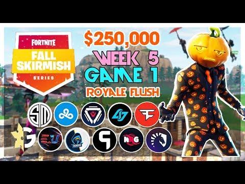 Video $250,000 🥊Big Bonus Fall Skirmish🥊 Week 5/Game 1 (Fortnite) download in MP3, 3GP, MP4, WEBM, AVI, FLV January 2017