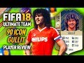 FIFA 18 RUUD GULLIT (90) *ICON* PLAYER REVIEW! FIFA 18 ULTIMATE TEAM!