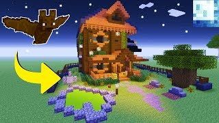 """Minecraft Tutorial: How To Make A Haunted House """"Halloween House Tutorial"""""""