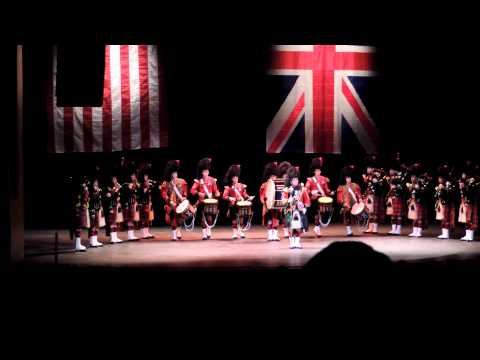 pipes - The Pips & Drums of The Black Watch 3rd Battalion The Royal Regiment of Scotland on tour with The Military Band of The Scots Guard USA 2013. The Pipes & Drum...