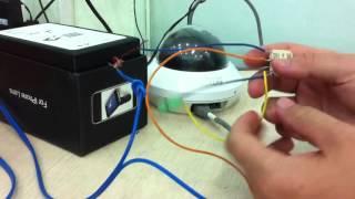 Cách kết nối camera IP với thiết bị alarm