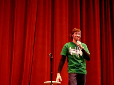 Comedian Jeff Dye at Vincennes University
