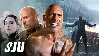 A New Hobbs & Shaw Trailer is Here! | SJU by Clevver Movies