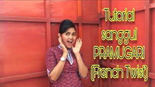 Video FRENCH TWIST | sanggul pramugari MP3, 3GP, MP4, WEBM, AVI, FLV April 2019