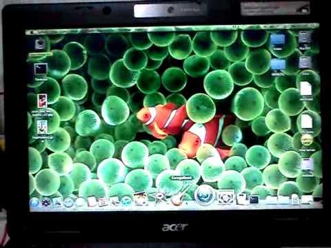 SnowLeo on Acer TM6292