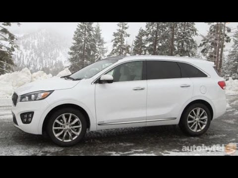 2016 Kia Sorento 7-Passenger SUV Test Drive Video Review