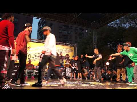 20121110 新北市國際街舞大賽 Breaking Bboyworld (USA) Vs JinJo Crew (KOREA) Tie Break 2