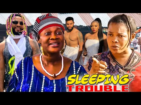 Sleeping Trouble (Yoruba Demon) Complete Movies - Mercy Johnson Okojie Latest Nigerian Movies.