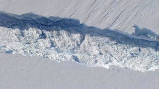 NASA | Operation IceBridge Discovers Massive Crack in Ice Shelf