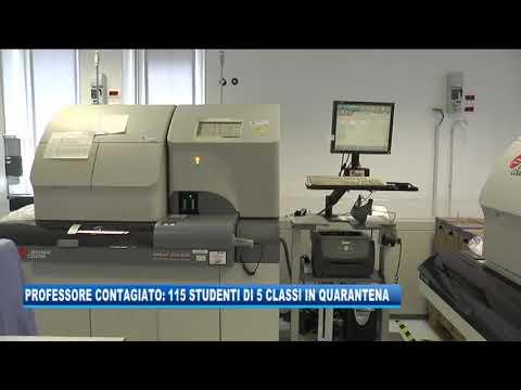14/09/2020 - PROFESSORE CONTAGIATO: 115 STUDENTI DI 5 CLASSI IN QUARANTENA