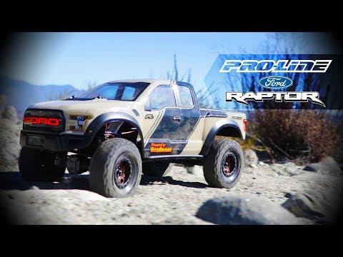 Pro-Line 2017 Ford F-150 Raptor Crawler Body
