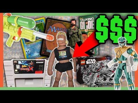 OLD TOYS WORTH MONEY - CHILDHOOD TOYS WORTH A FORTUNE!!