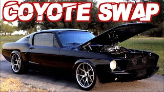 1968 Fastback Mustang Supercharged COYOTE Swap! (INCREDIBLE Restoration Build) by  That Racing Channel