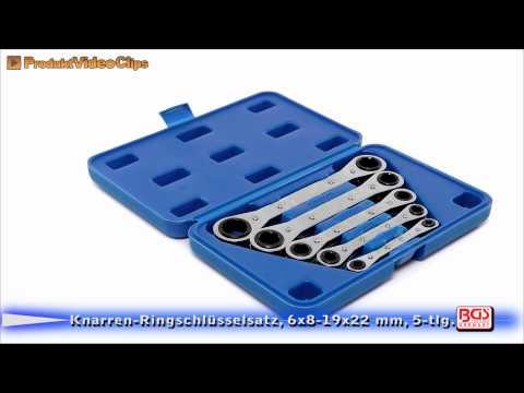 Knarren Ringschlüsselsatz, 6x8 19x22 mm, 5 tlg