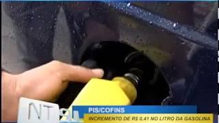 Aumento de impostos deve elevar gasolina em R$ 0,41