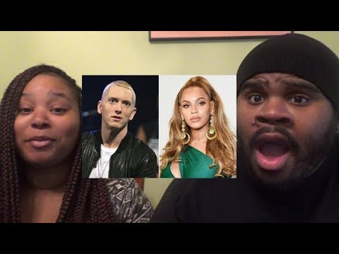 EMINEM - WALK ON WATER FT BEYONCE - REACTION