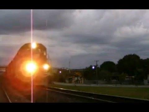 Trem ALL SD40-T2 9505 Em Balsa Nova, PR
