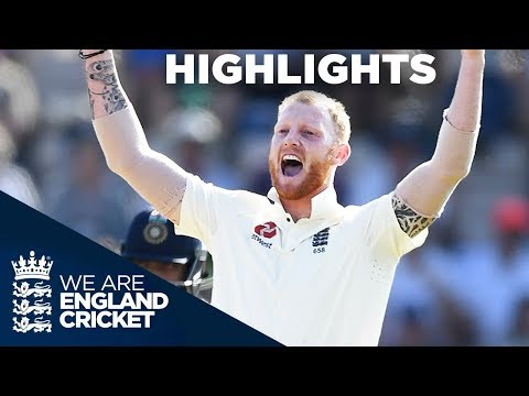 England Secure Test And Series Win | England v India 4th Test Day 4 2018 - Highlights (видео)