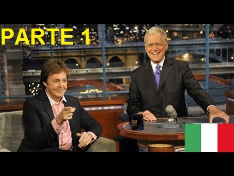 Video [SUB itA] - Paul McCartney & David Letterman PARTE 1 download in MP3, 3GP, MP4, WEBM, AVI, FLV January 2017