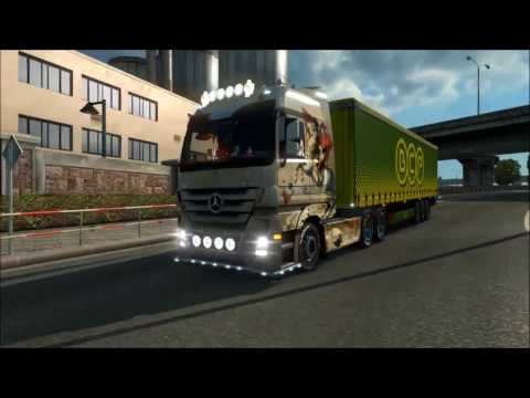 Mercedes Actros MP3 Reworked v1.6.1