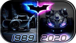 EVOLUTION of BATMOBILE in Movies & TV series (1943-2020)🙊 The Batman 2020 concept batmobile trailer