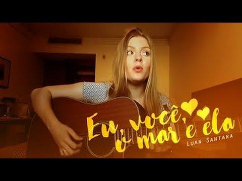 Luísa Sonza - Eu você o mar e ela - EVME - Cover - Luan Santana