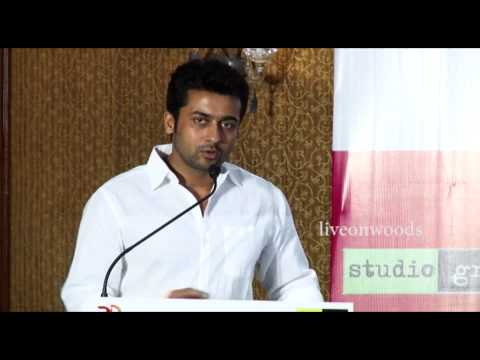 Actor Surya Happy Speech | 36 Vayadhinile Success Press Meet | (HD)