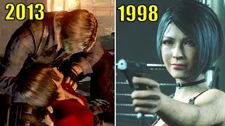 Ada Meets Leon Years After Racoon City Incident - Resident Evil 2 Remake 2019