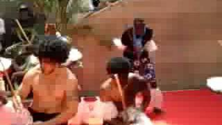 Pacific Fijian Fan Meke