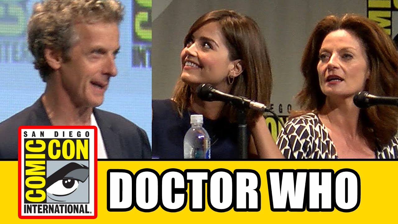 Watch The Full SDCC 2015 Doctor Who Panel