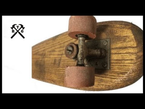 Vintage Skateboard Restoration -  asmr repair