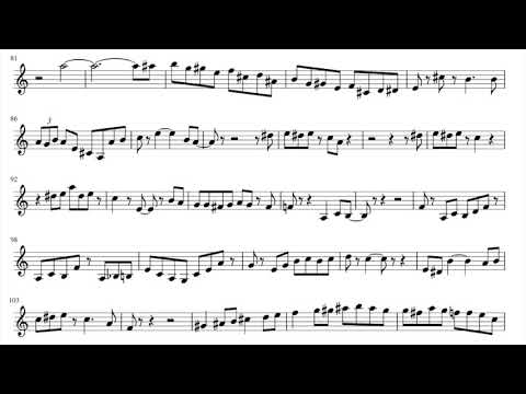"Wynton Marsalis - Jazz in Marciac 2009 ""Sheik of Araby"" solo transcription"